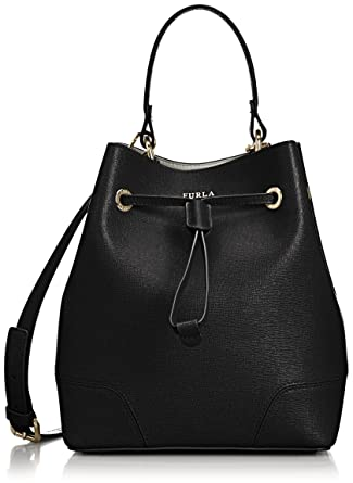 Furla Womens Stacy S Drawstring Top-Handle Bag (Onyx) Best Seller Big Sale For Sale Outlet Wiki Free Shipping Official Site puPOo