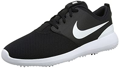 promo code 0a8de c7af6 Nike Men s Roshe G Golf Shoe Black White Size 7 ...