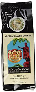 Diamond Medium-Light Roast, King's Reserve Kona Hawaiian Coffee Blend