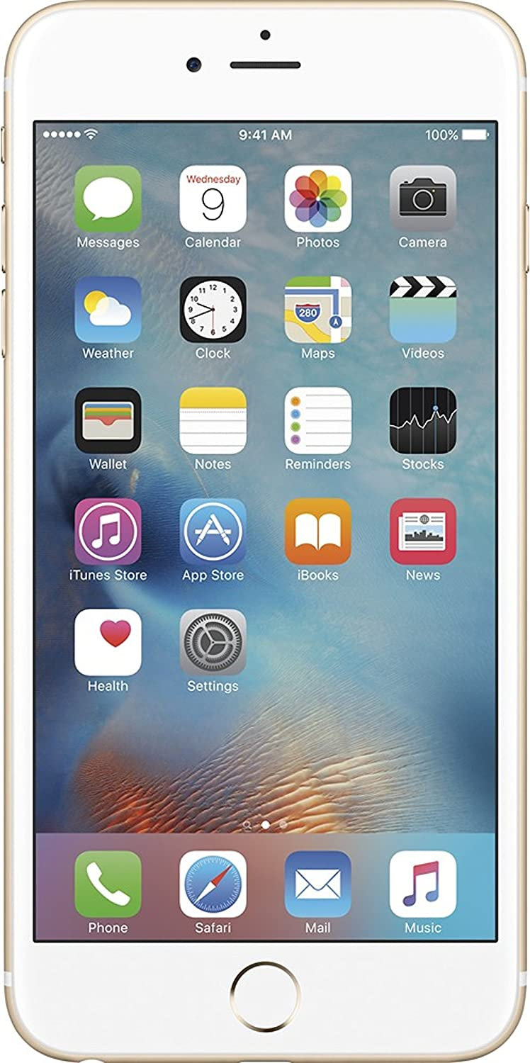 Apple Iphone 6S Plus, 32Gb, Gold - für At&T / T-Mobile (Renewed)