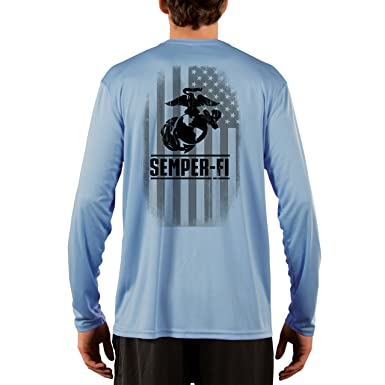 Dead Or Alive Clothing Men s Semper-Fi UPF 50+ Long Sleeve T-Shirt at Amazon  Men s Clothing store  fdc2d31e2