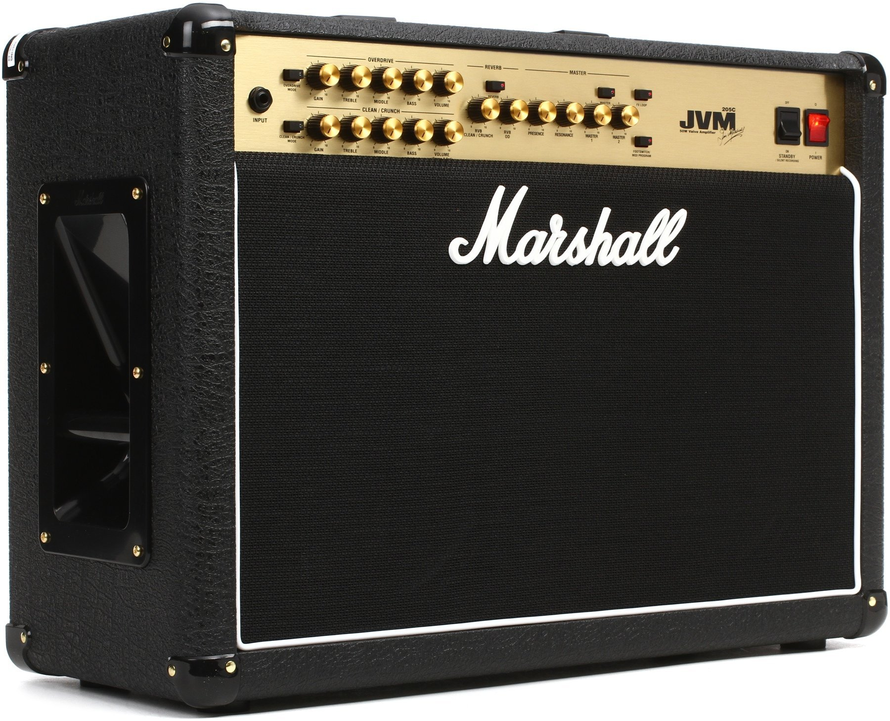 marshall jvm205c jvm series 50 watt 2x12 inch guitar combo amp guitar affinity. Black Bedroom Furniture Sets. Home Design Ideas