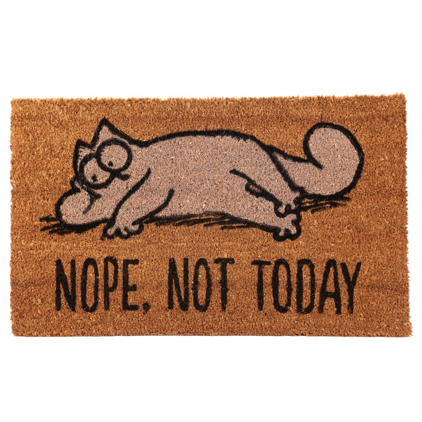 Simon's Cat Fußmatte NOPE, NOT TODAY