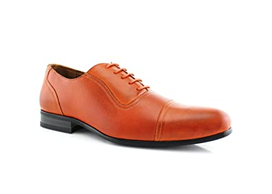 Ferro Aldo Men's Dress Shoes Cap Toe Lace up Oxfords Don MFA19339 (7 U.S,