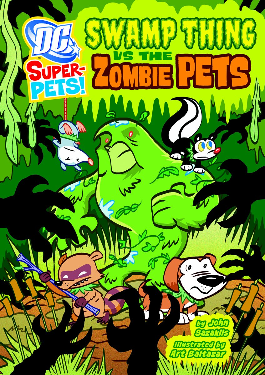 Swamp Thing Zombie Pets Super Pets