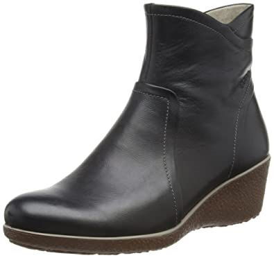 fdbffc28c669 ECCO Shoes Womens Shiver Wedge Chelsea Boots 22052311001 Black 6.5 ...
