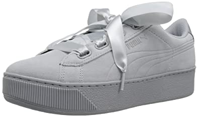 ccc321e83fc3d2 PUMA Women s Vikky Platform Ribbon S Sneaker
