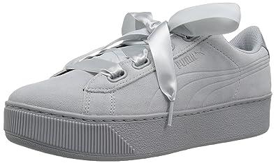 565d4c87bf7 PUMA Women s Vikky Platform Ribbon S Sneaker