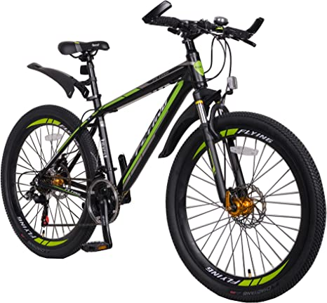Halfords Silicon Kids Front Bike Light Green