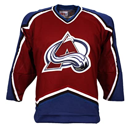 detailed look eed17 22ca5 authentic ccm colorado avalanche vintage replica jersey 1995 away xx large  a5e4c 5ea6f