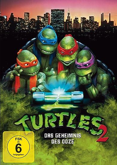 Turtles 2 - Das Geheimnis der Ooze [Alemania] [DVD]: Amazon ...
