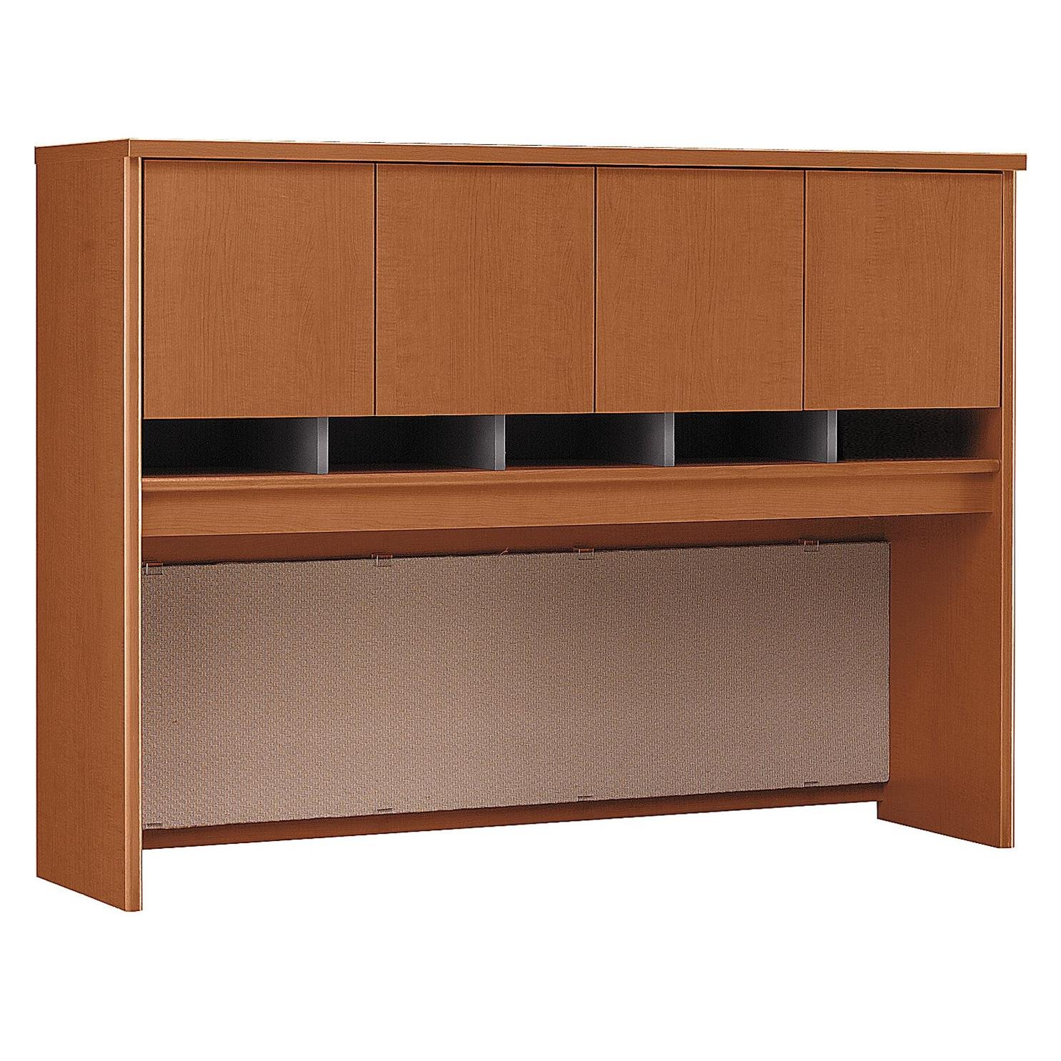 Bush Business Furniture Series C 60W Hutch in Auburn Maple by Bush Business Furniture