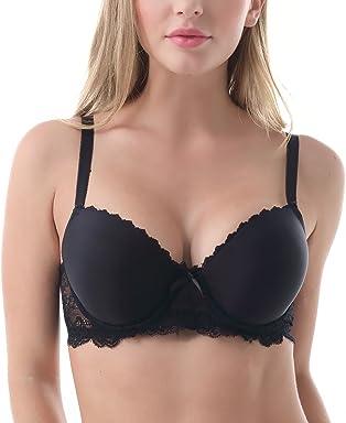 51021ddd49c Mierside Women Plus Size Bra Lace Bra Underwire