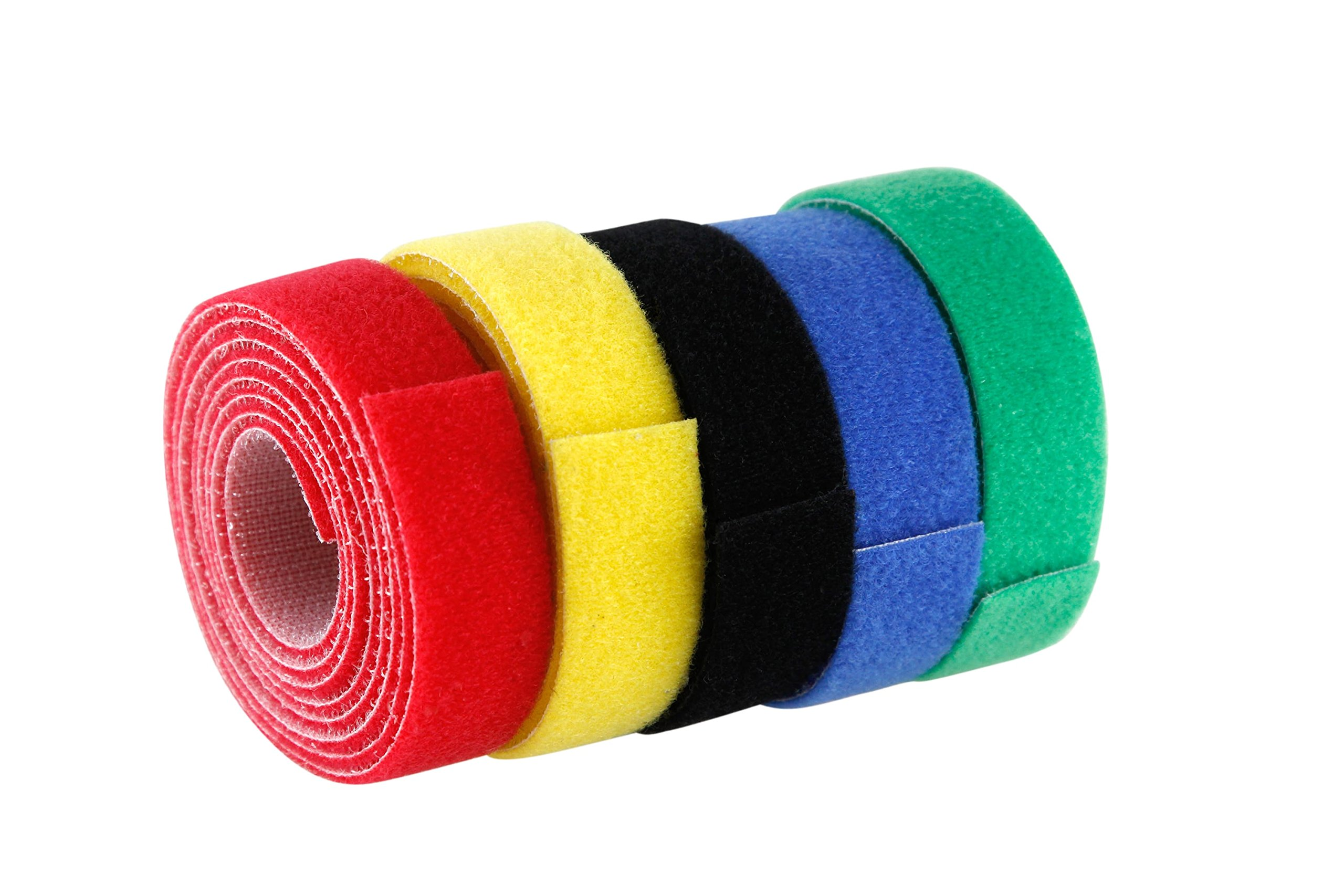Baumgartens Nylon Cord Roll 5 Pack Assorted Colors (Pack of 5) (48005) by Baumgartens (Image #2)