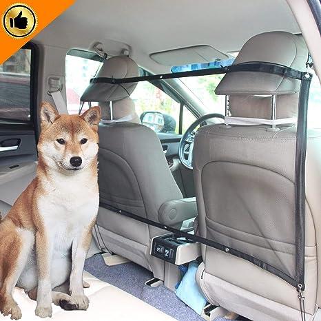 Mioke Red de Coche para Perros Mascota,Barrera Coche Protector de ...