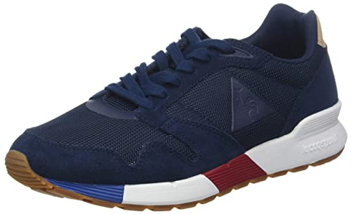 Le Coq Sportif Omega X Sport Dress Blue, Zapatillas para Hombre: Amazon.es: Zapatos y complementos