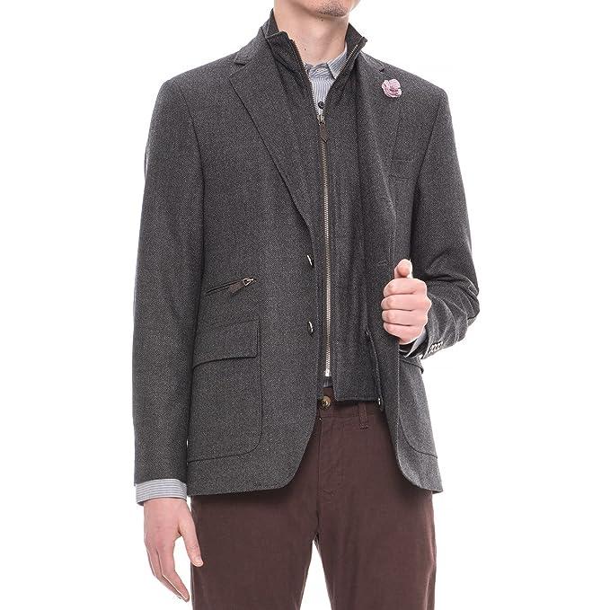 Amazon.com: Riviera Red Hybrid Zip Out Babero gris de lana ...