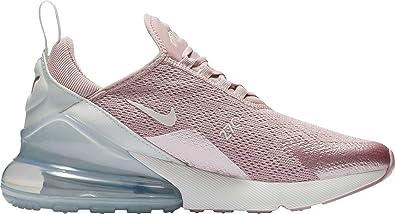 voluntario Combatiente Sumergir  Amazon.com: Nike Air Max 270 - Zapatos para mujer (8.5, color morado y  blanco): Shoes