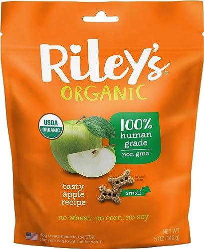 Riley S Organics Apple Bone, Small, 5 Oz.