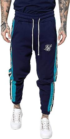 Sik Silk - Pantalón de chándal para Hombre: Amazon.es: Ropa y ...