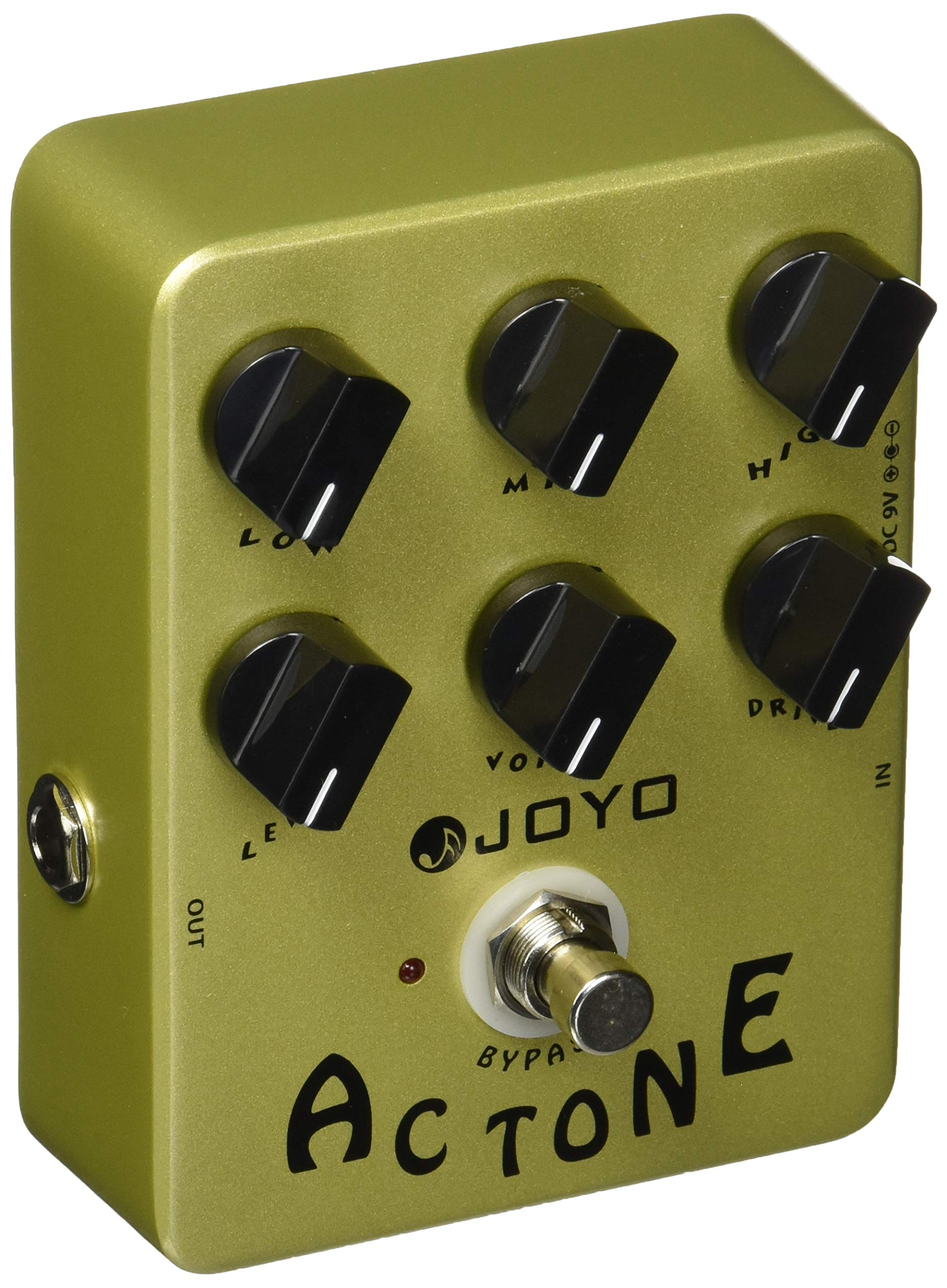 Joyo JF-13 AC Tone Vintage Tube Amplifier effects pedal, analog circuit and bypass