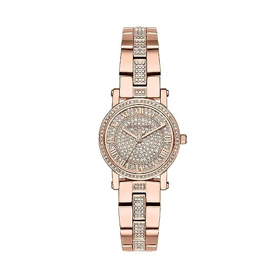 Michael Kors Reloj Analogico para Mujer de Cuarzo con Correa en Acero Inoxidable MK3776: Amazon.es: Relojes