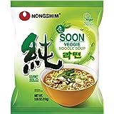 Nongshim Soon Veggie Noodle Soup, 3.95 Ounce (Pack of 10) (101002844)
