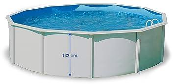 TOI - Piscina PRESTIGIO CIRCULAR 350x132 cm Filtro 6 m³/h