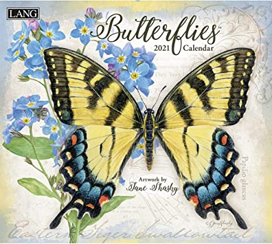 Butterfly Calendar 2021 Amazon.: Lang Butterflies 2021 Wall Calendar (21991001898