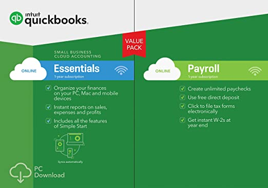 Amazoncom QuickBooks Online Essentials Small Business - Download quickbooks products