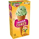 Keebler Ice Cream Cones, Sugar, 4 oz (12 ct)