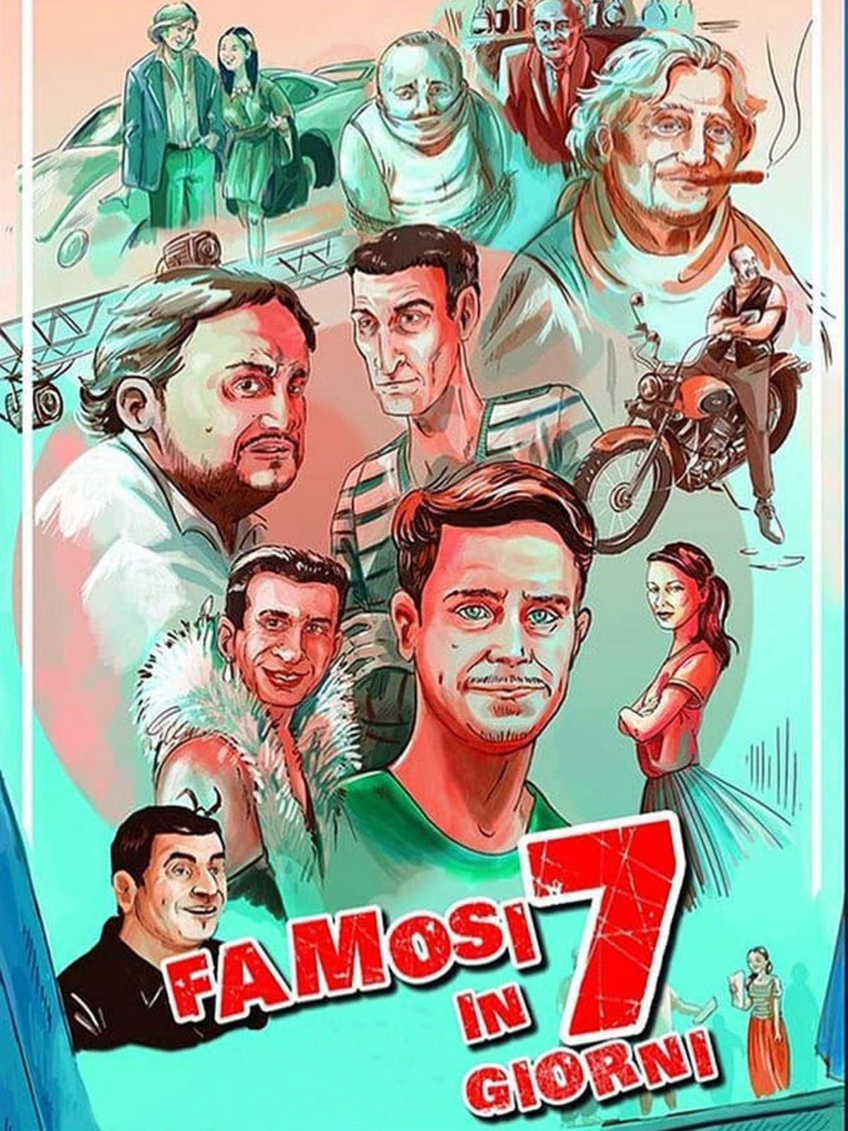 Famous in 7 days on Amazon Prime Video UK