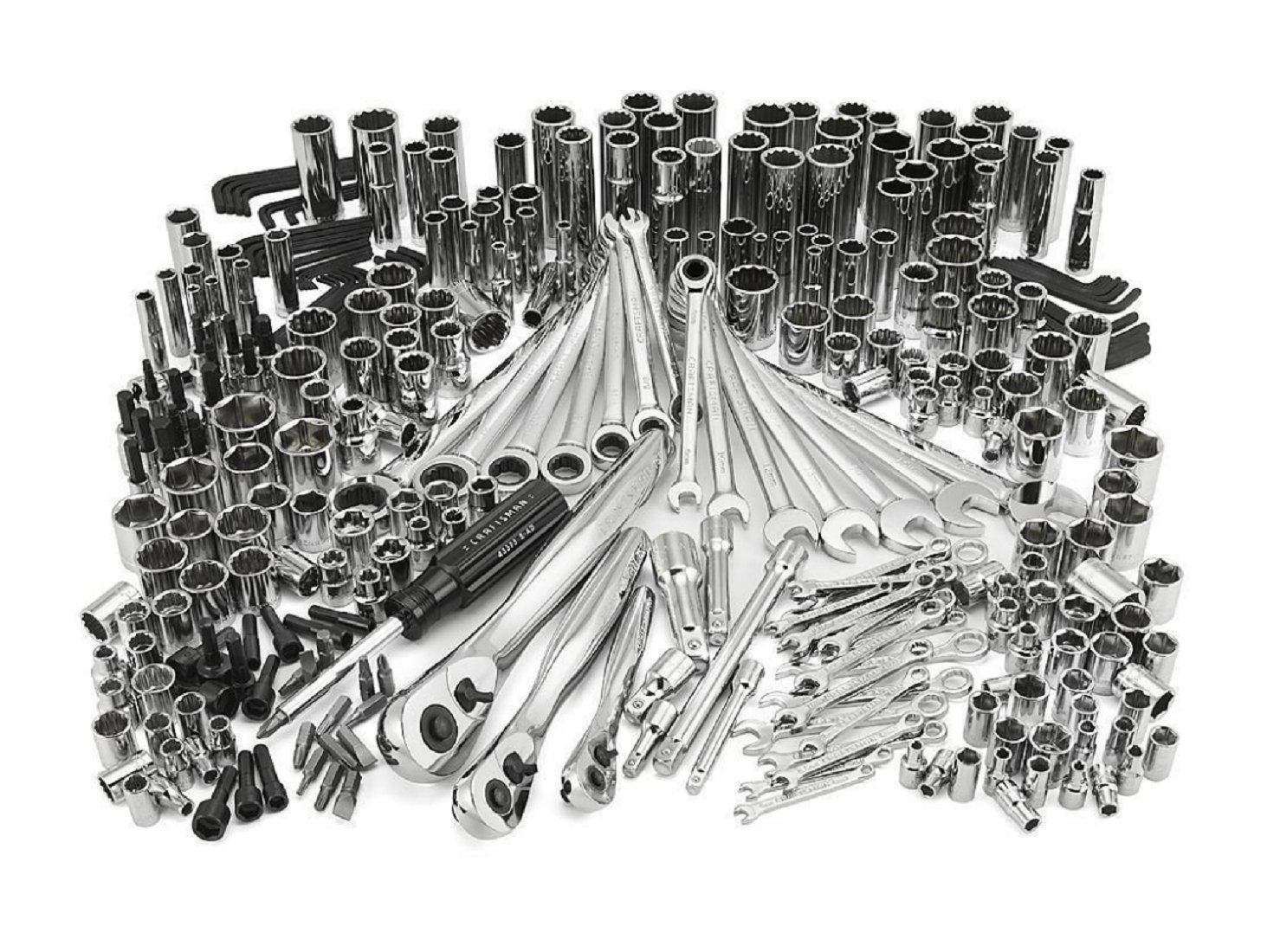 Craftsman 311 pc Mechanics Tool Set 35311 Ratcheting Combination Wrenches 334 3 days Shipping by Cherry's tools