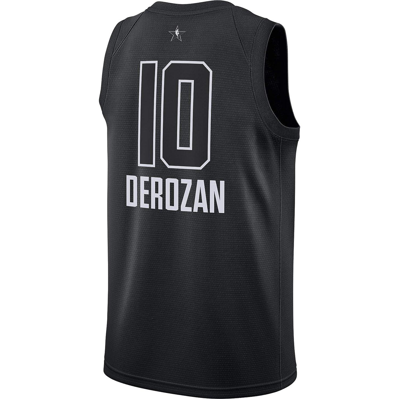 17c27cc67 Amazon.com   Outerstuff DeMar DeRozan Toronto Raptors  10 Black Youth 2018 All  Star Swingman Jersey   Sports   Outdoors