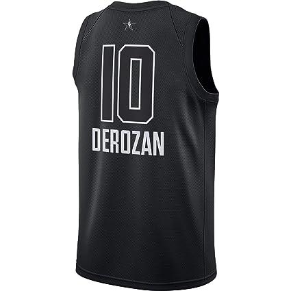a8ea18d4e Outerstuff DeMar DeRozan Toronto Raptors  10 Black Youth 2018 All Star  Swingman Jersey (Small