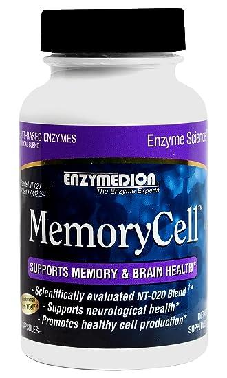 Amazon.com: MemoryCell - Enzymedica - 60 - Capsule: Health ...