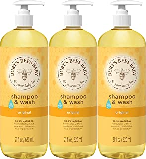 product image for Burt's Bees Baby Shampoo & Wash, Original, 21 Ounces (Pack of 3)