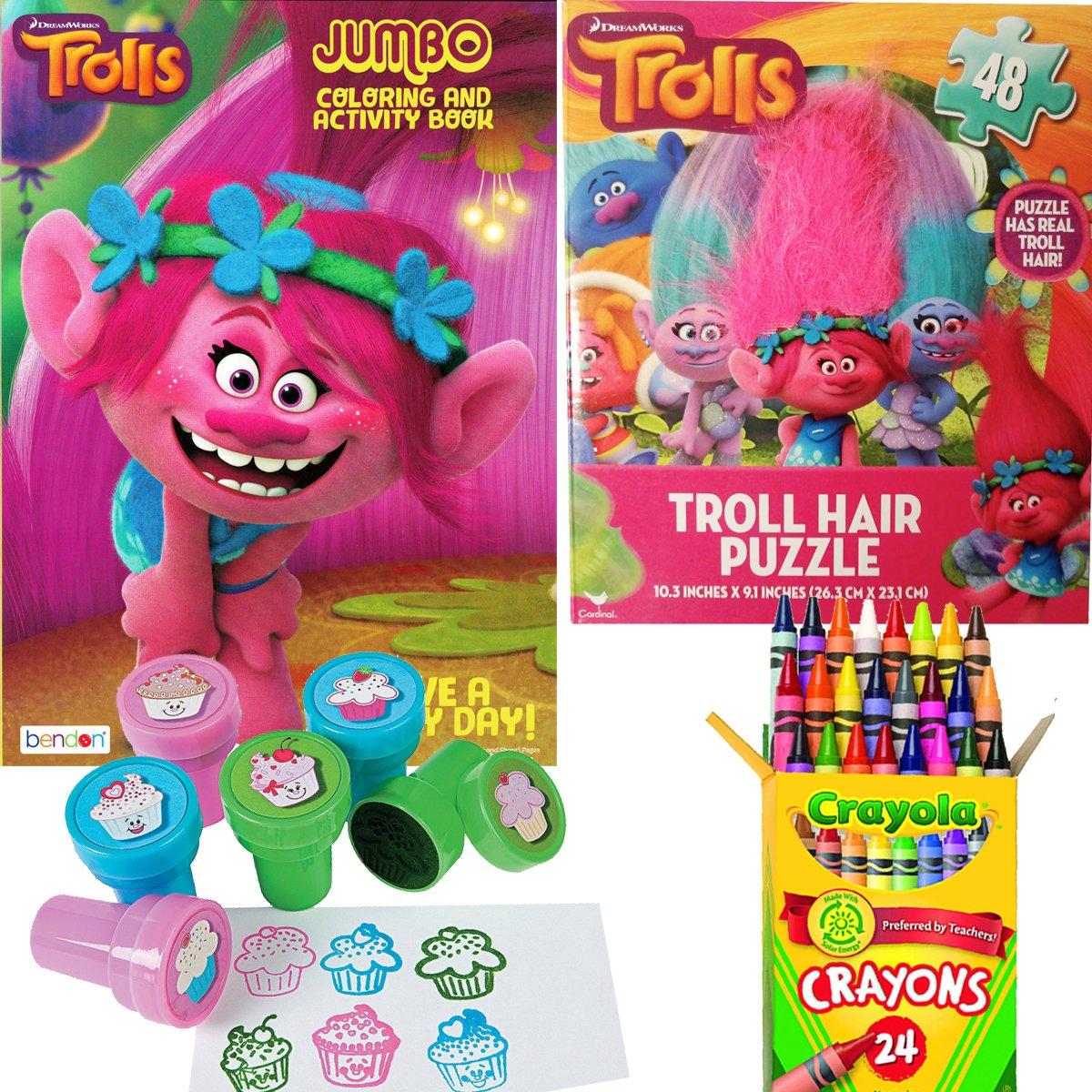 Townley Girl Disney Princess Non Toxic Peel Off Nail: Amazon.com : TownleyGirl Dreamworks Trolls Hair