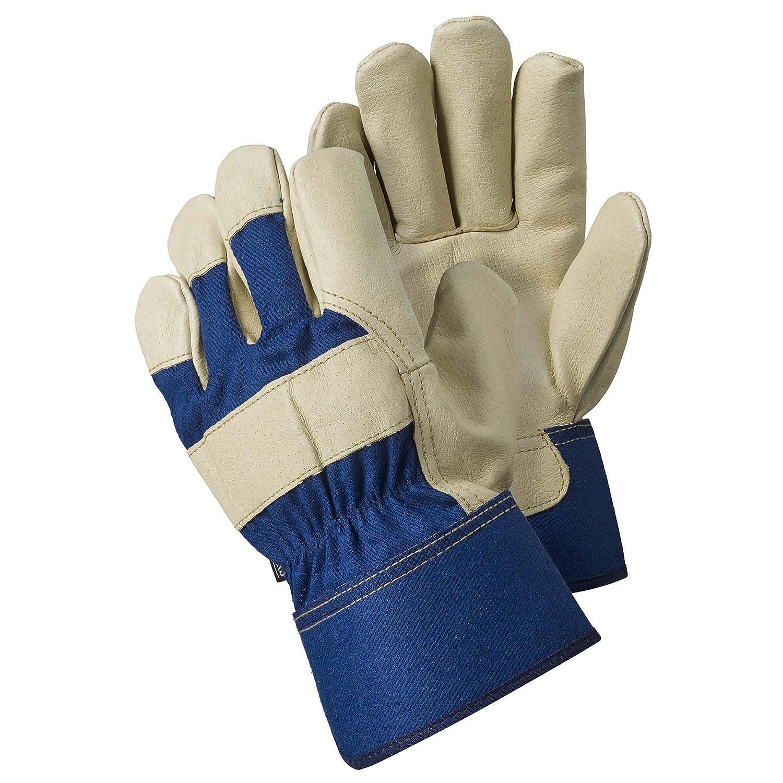 Briers Premium Hide Rigger Gloves, Blue, Extra Large Briers Ltd B7654