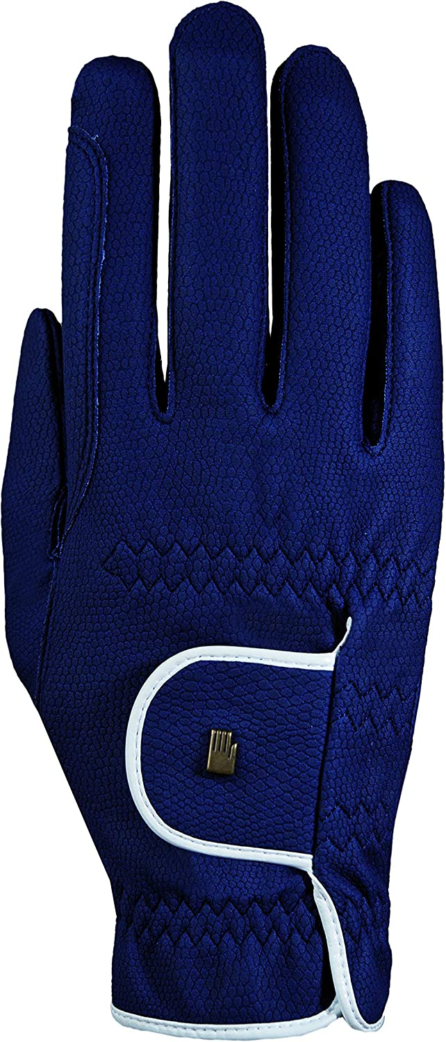 bicolores Navy Blue//White Roeckl Handschuhe Roeck Grip Riding Gloves 9.5 Unisex adult with Fleece Interior