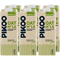 PIKOO Oat Milk Dairy Free, 6 x 1 Litre