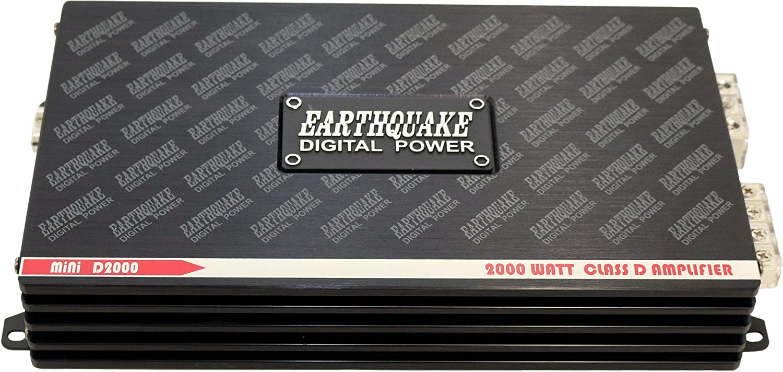 Earthquake Mini 2000 Watts Class D Amplifier For Car