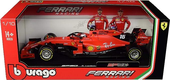 Bburago 36809 FERRARI F1 SF71H #5 S.Vettel METAL 1:43 Racing