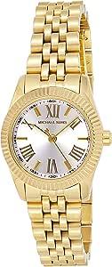Michael Kors Lexington Women's White Dial Stainless Steel Band Watch - MK3229