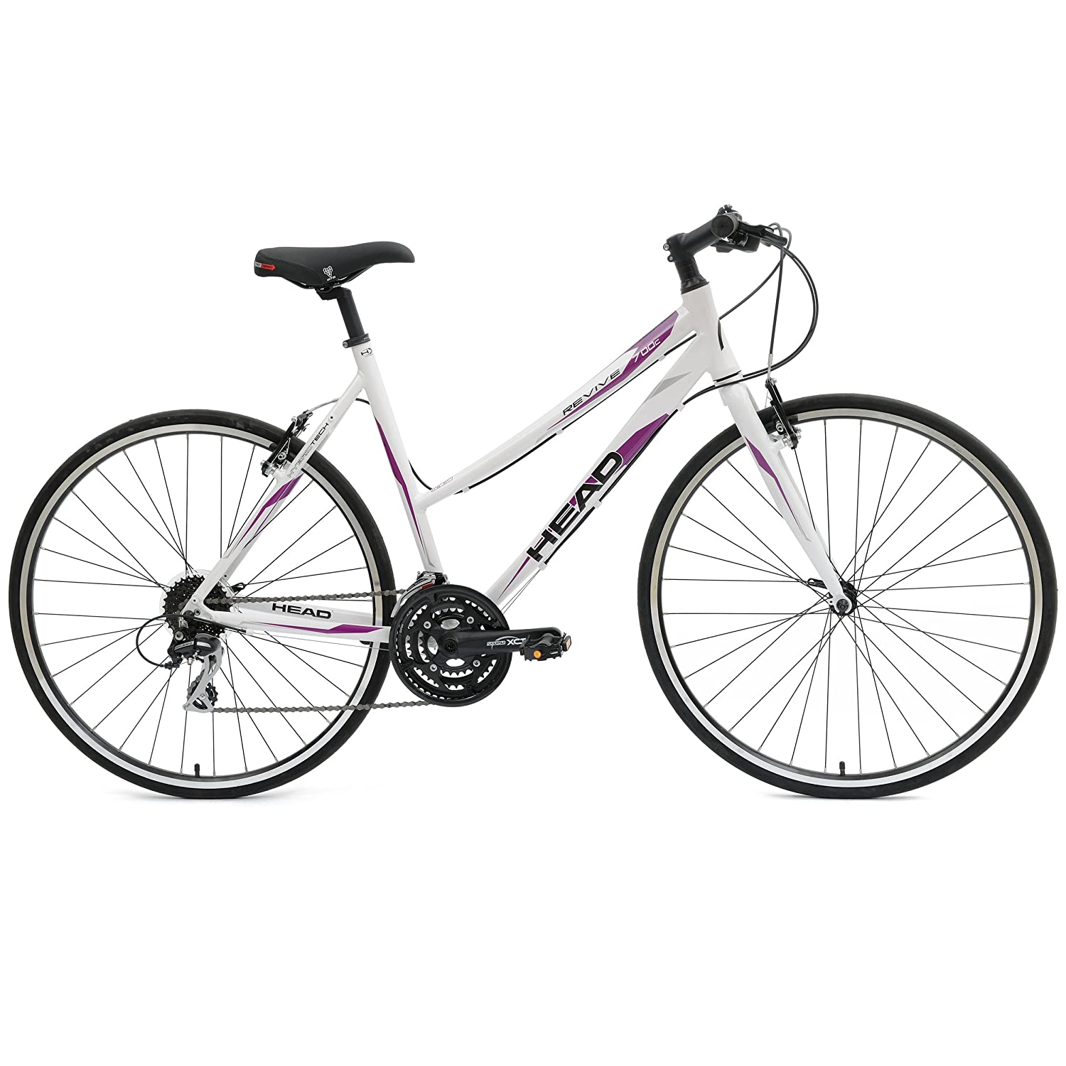 Amazon.com : Head Revive 700C Hybrid Road Bicycle : Sports & Outdoors