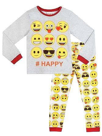 Emoji Girls Emoji Pajamas Size 6