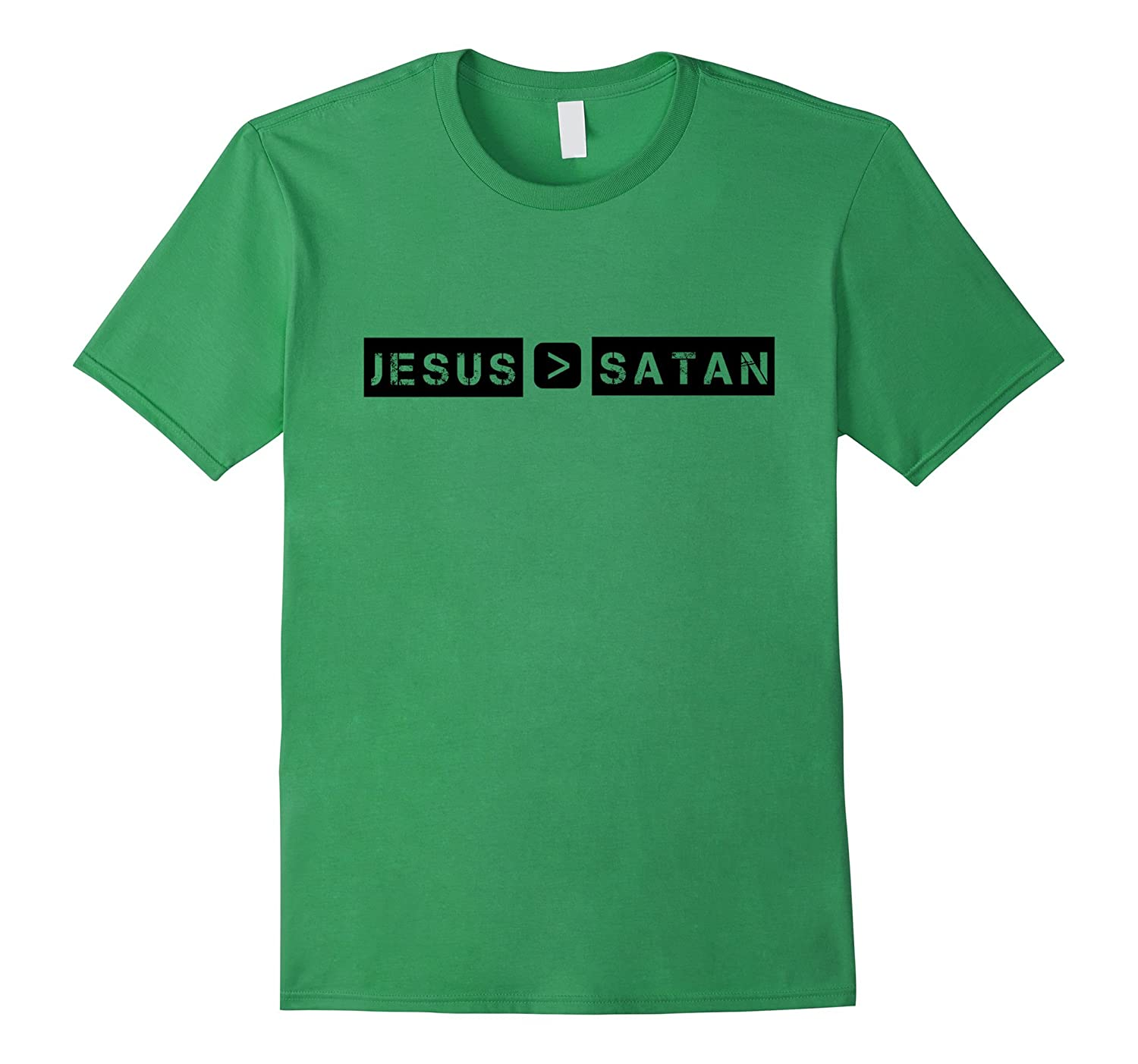 jesus is greater than satan tshirtcd � canditee
