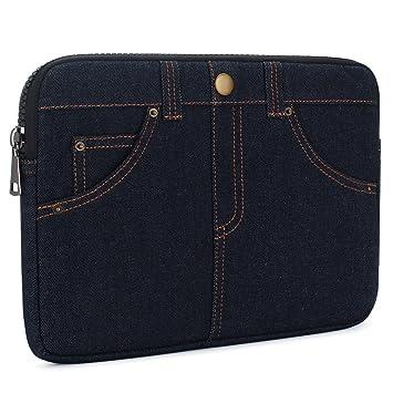 KIZUNA 14 inch Laptop Sleeve Case Jeans-style Multiple Storage Bag for Surface Book/Lenovo Lenovo Yoga 530/Flex 4/14