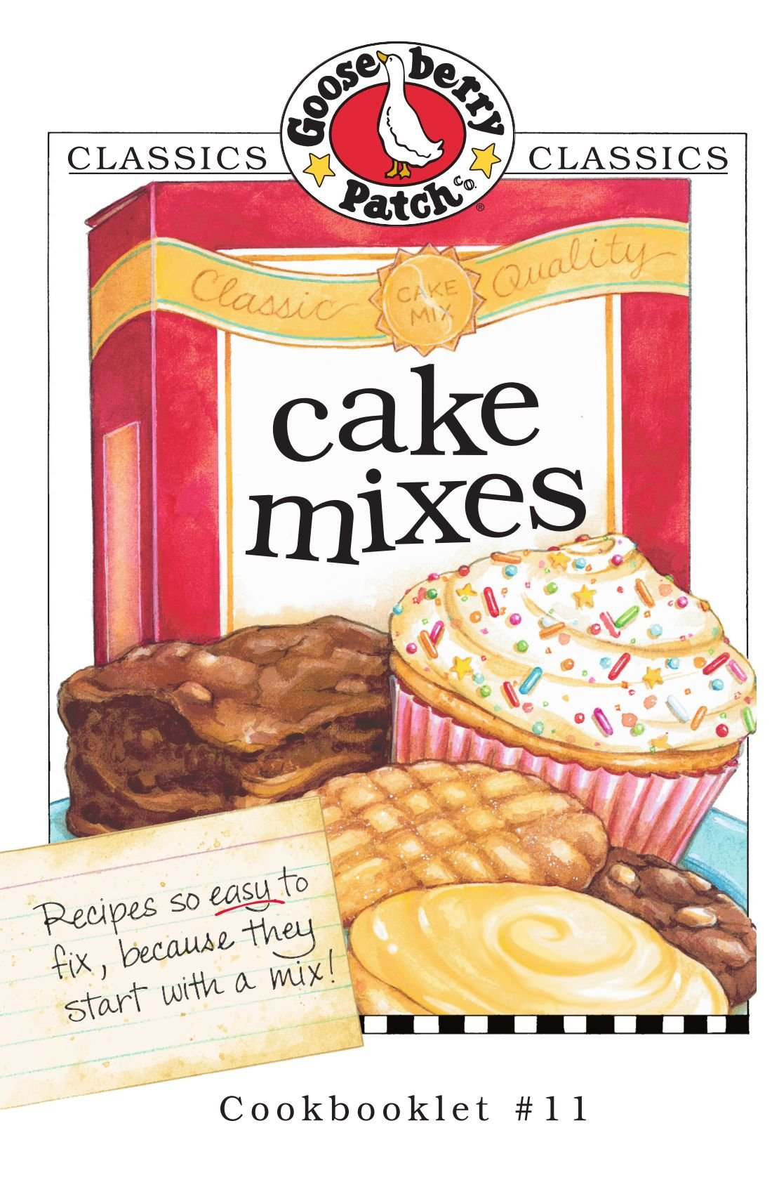 Download Cake Mixes (Gooseberry Patch Classic Cookbooklets, No. 11) pdf epub