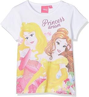 Cinderella Belle Cotton Disney Princess RH1282 Long Sleeve Tops Girls Aurora